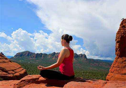 Meditate in the Energy of Sedona on the Red Rocks