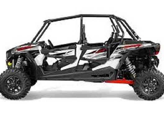 Polaris RZR 1000cc 4-Seat Half-Day Rental